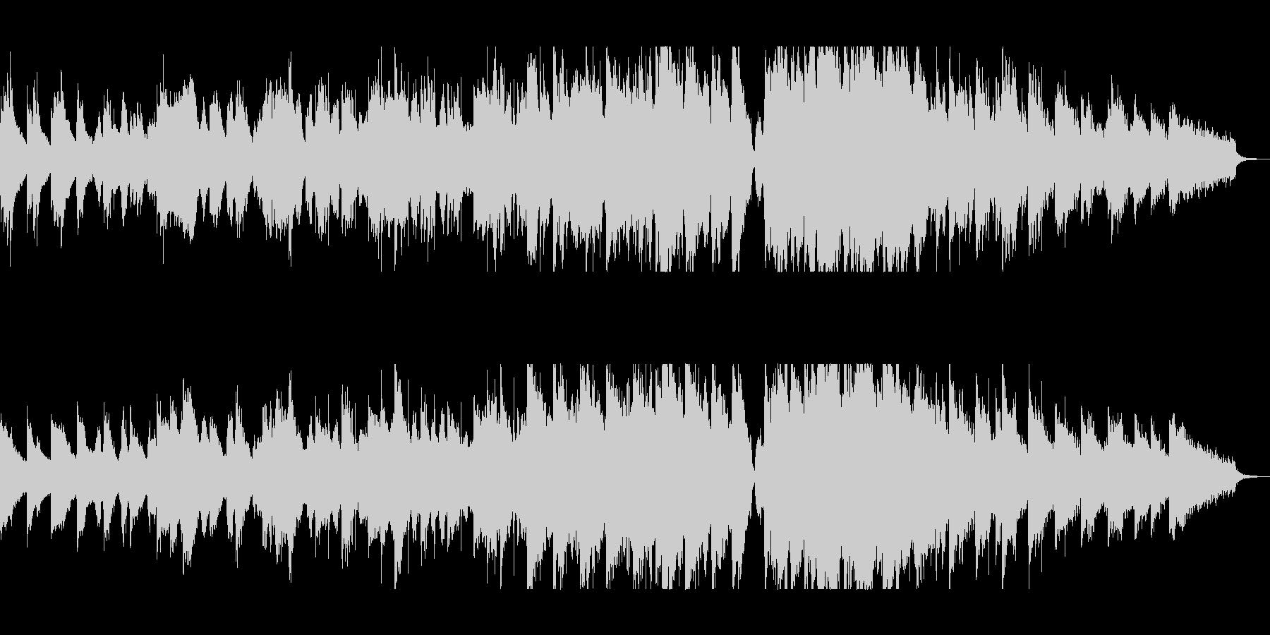 アコギとチェロのポップインストの未再生の波形