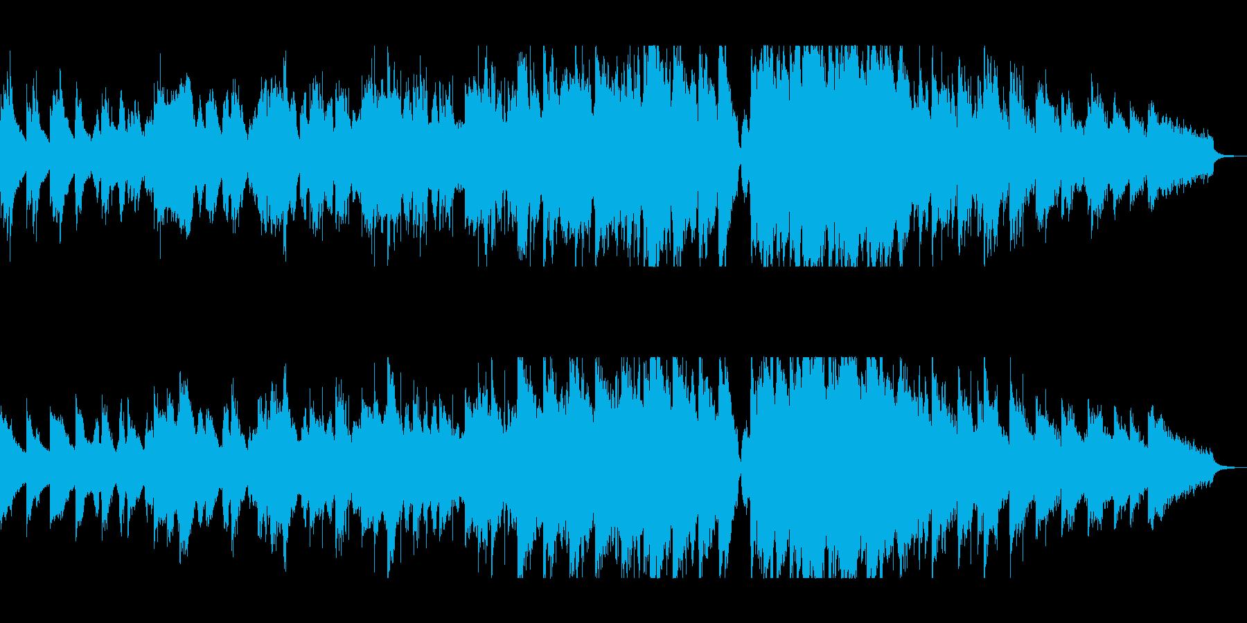 アコギとチェロのポップインストの再生済みの波形