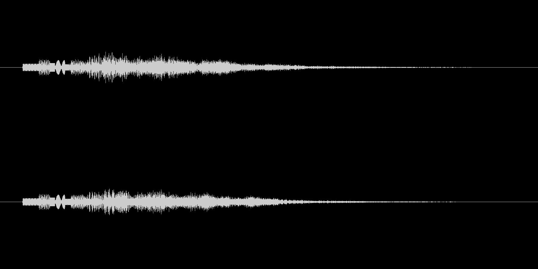 ピロピロピロピロッ↑(PC起動、決定音)の未再生の波形
