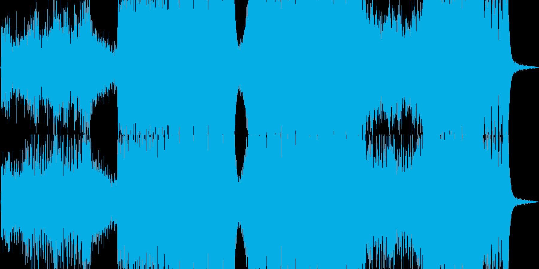 エピック・オーケストラ・怒りの再生済みの波形