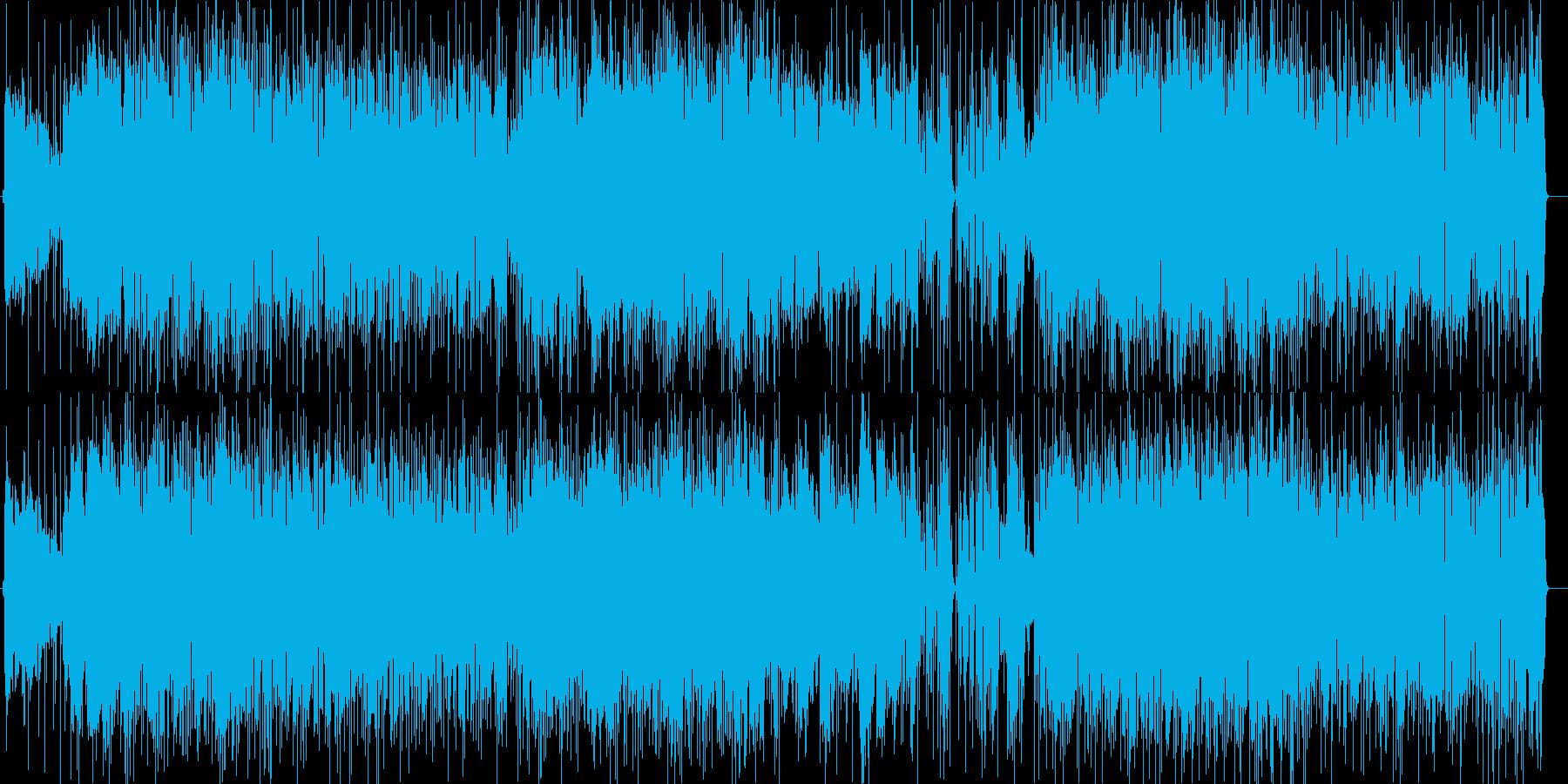 大人な雰囲気のアシッドジャズ2の再生済みの波形