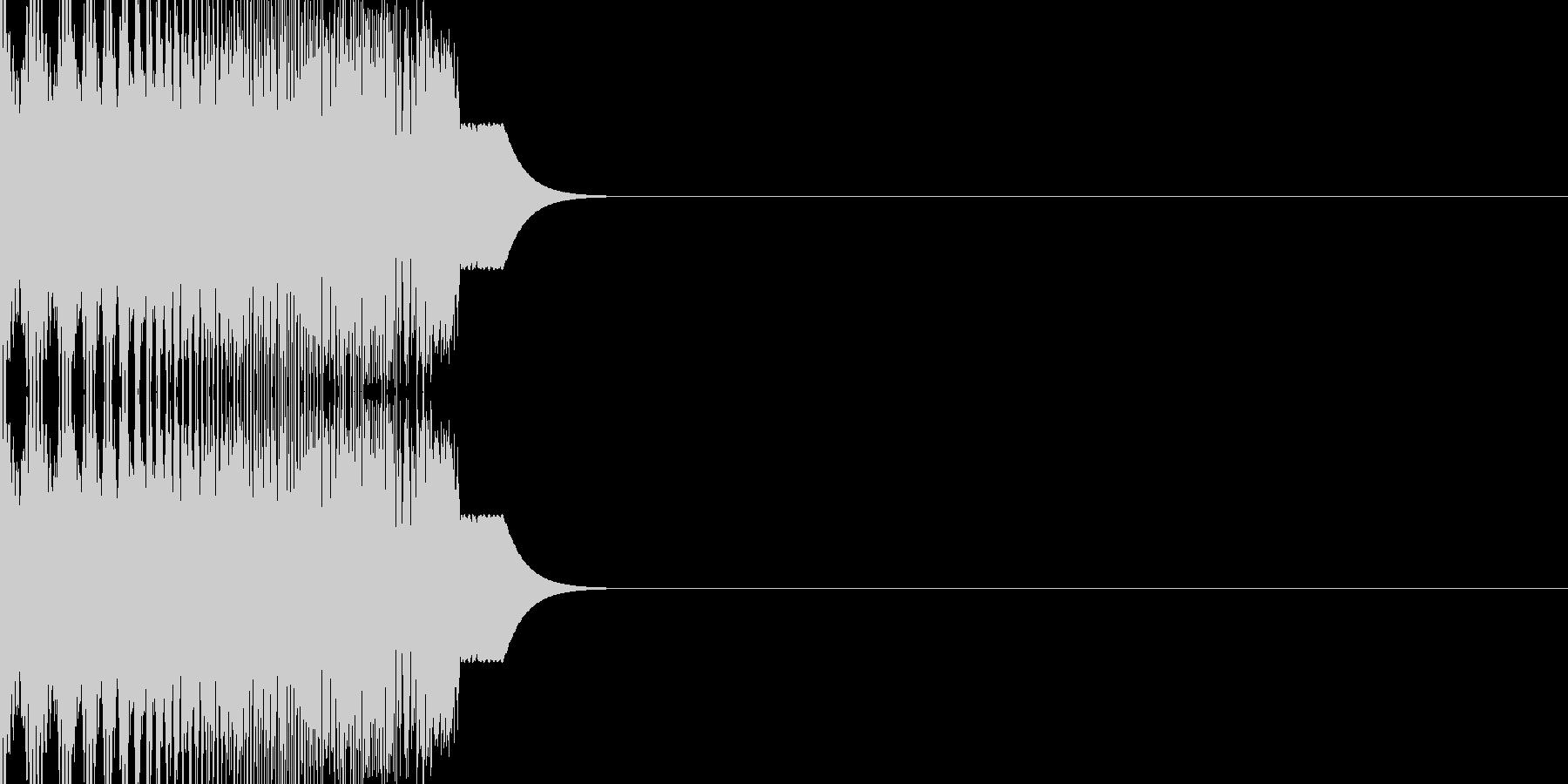 SF系のハッチ開閉音(シュウィン)の未再生の波形
