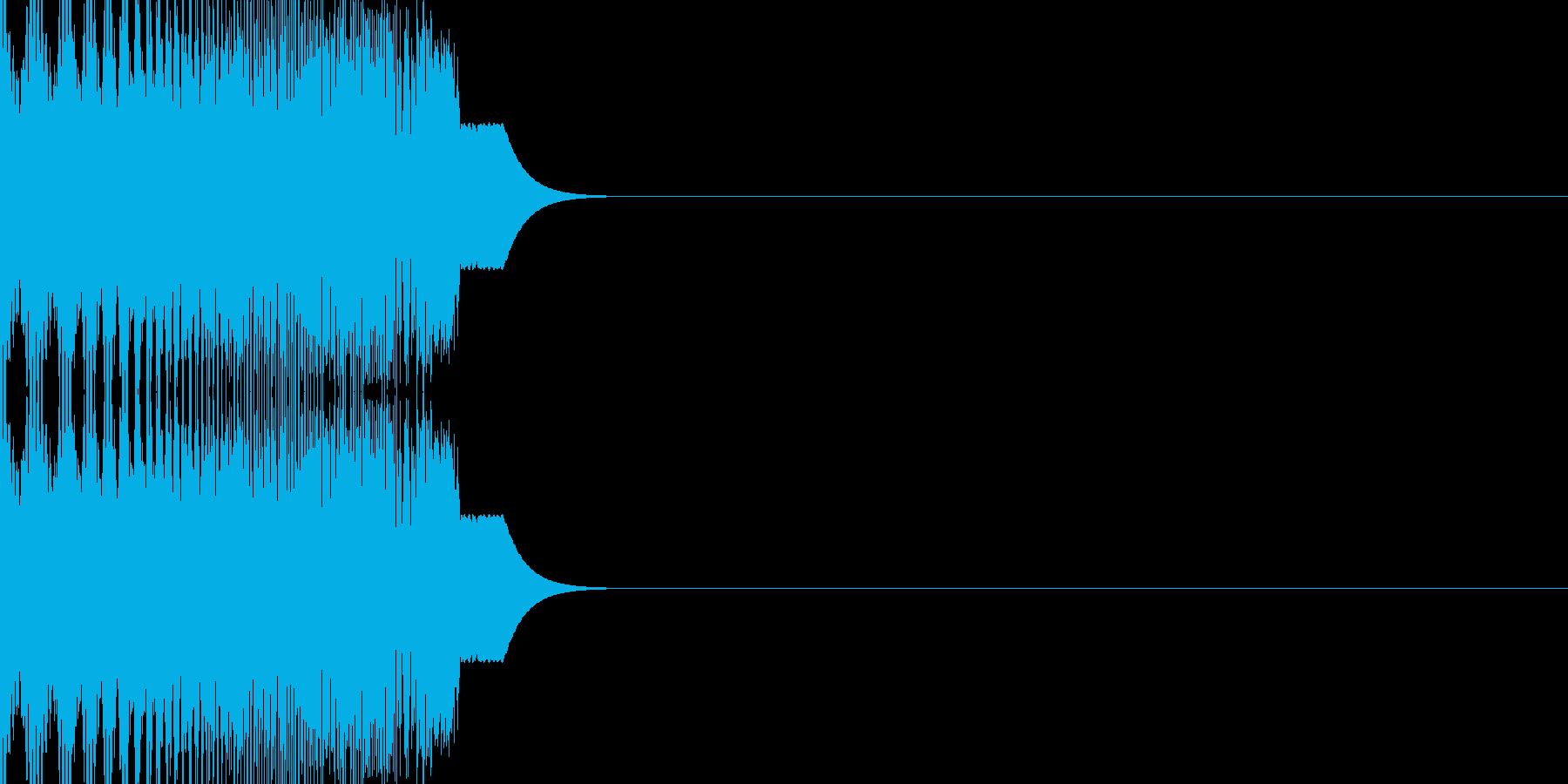 SF系のハッチ開閉音(シュウィン)の再生済みの波形