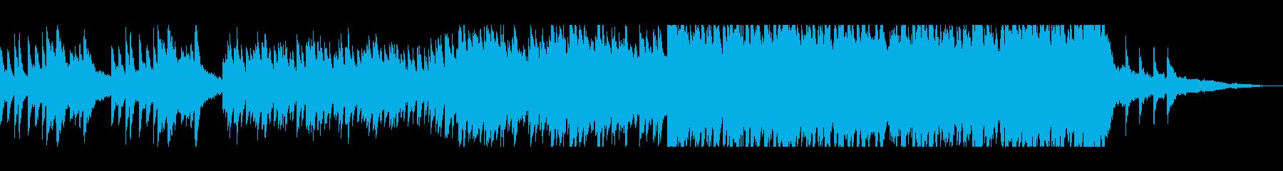 可憐で優雅なクラシカルピアノバラードの再生済みの波形