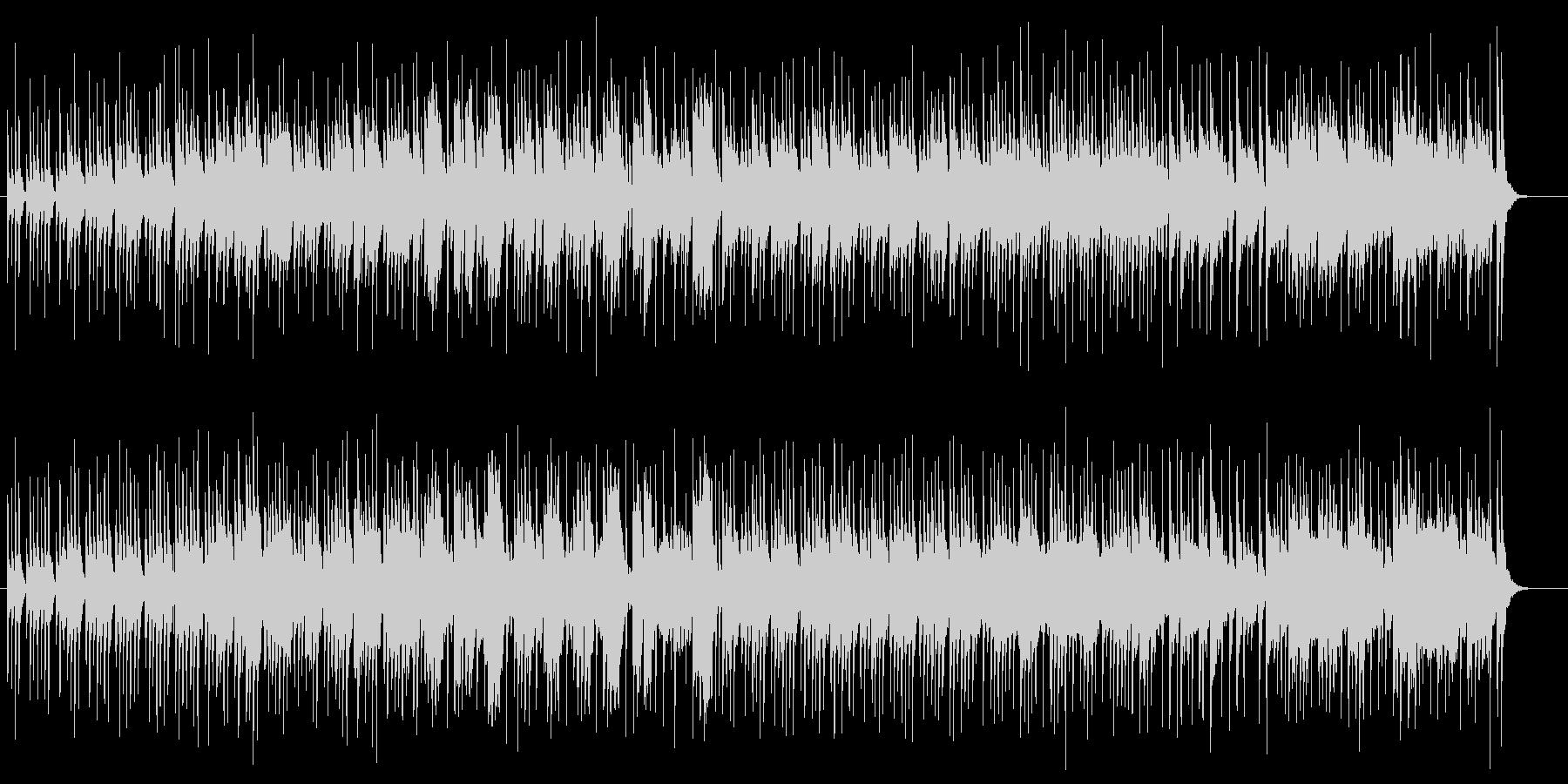明るくてオーソドックス感のあるポップ曲の未再生の波形