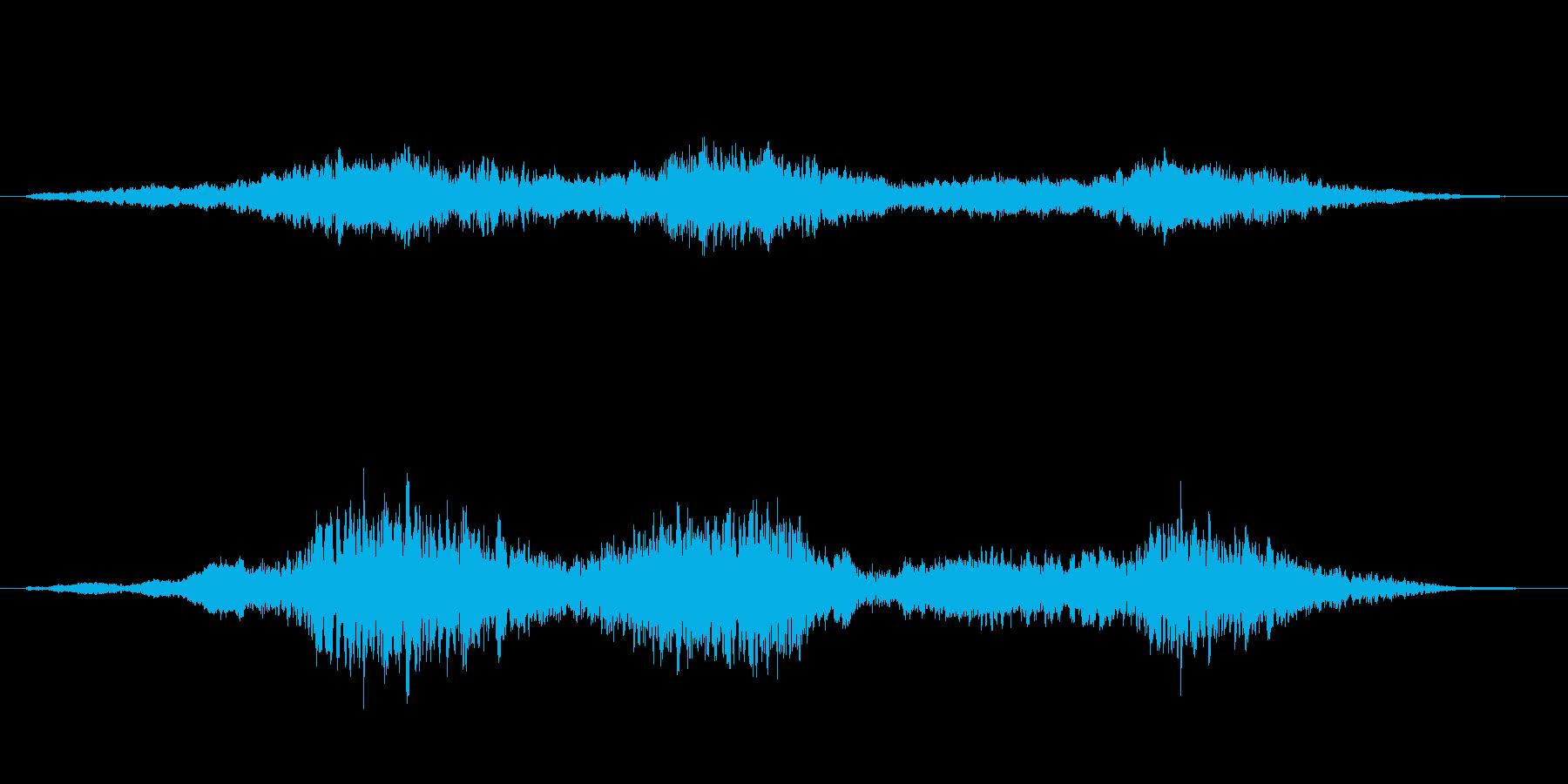 【SE 効果音】風(ホラー)の再生済みの波形