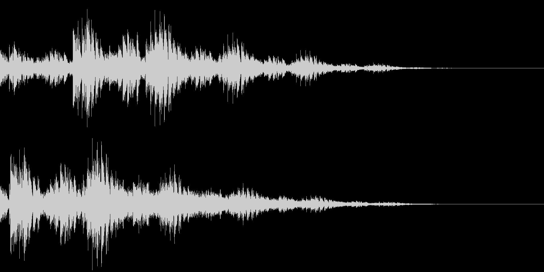 ファンタジー音01の未再生の波形