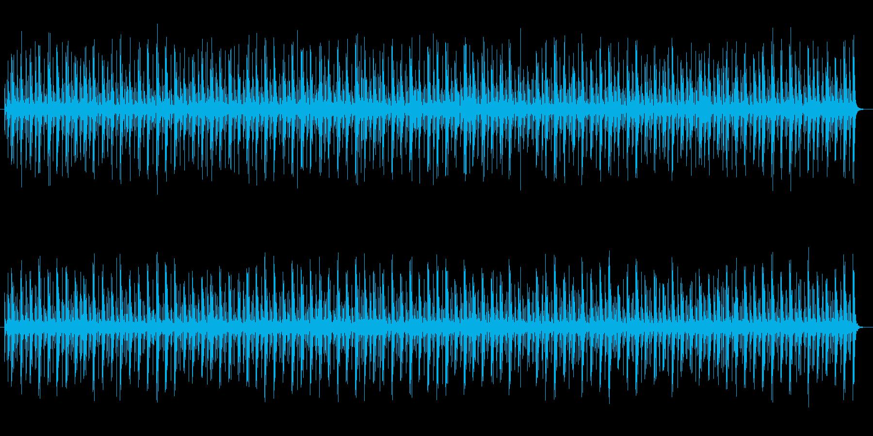 コンガのリズムBGM テンポ120ですの再生済みの波形