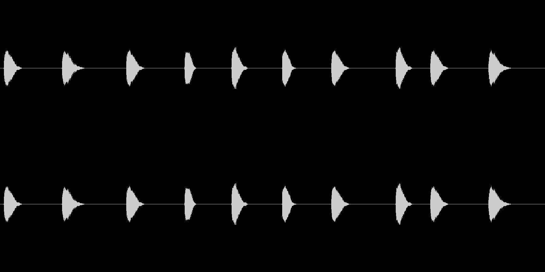 【カラス 合成01-4】の未再生の波形