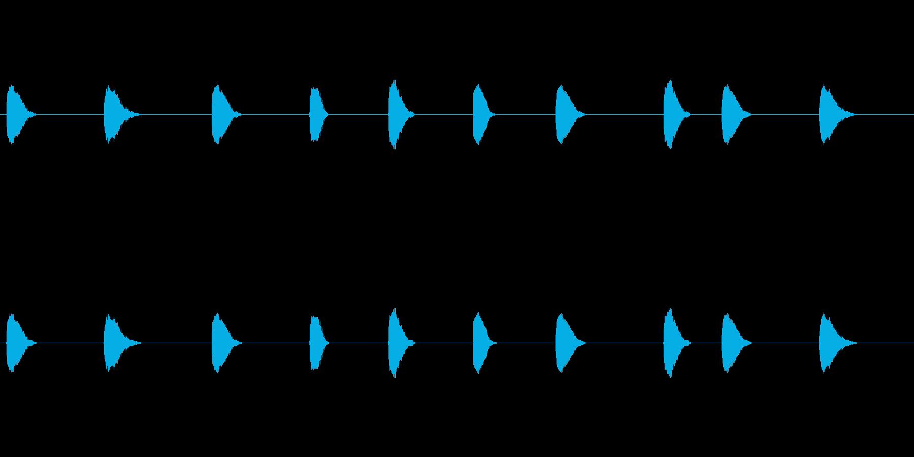 【カラス 合成01-4】の再生済みの波形