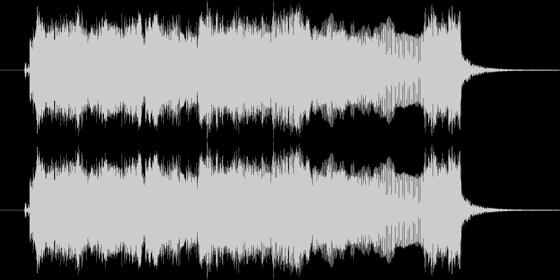 ギターフレーズ008の未再生の波形