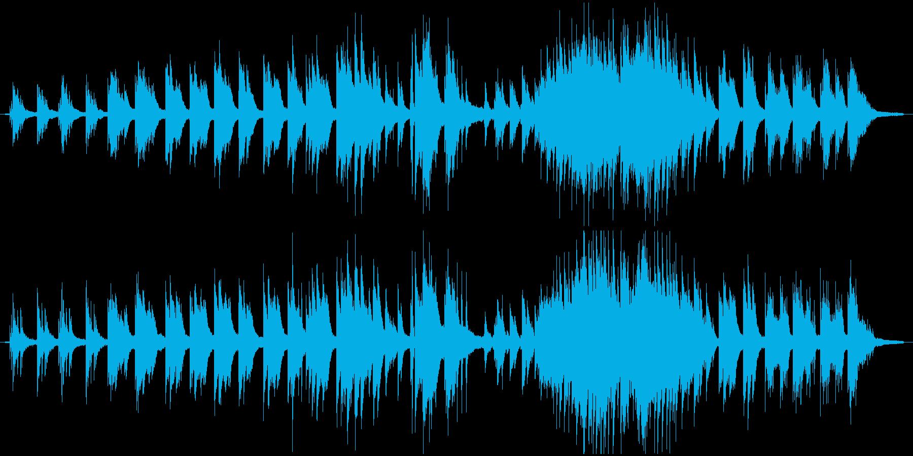 静かに強く思いを馳せるバラード(伴奏)の再生済みの波形
