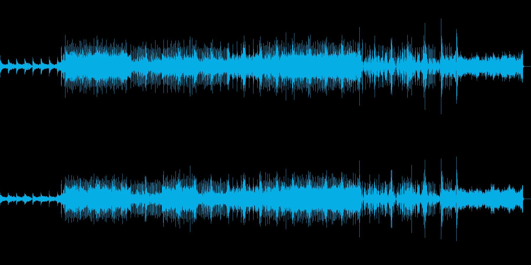 さわやかな楽曲ですの再生済みの波形