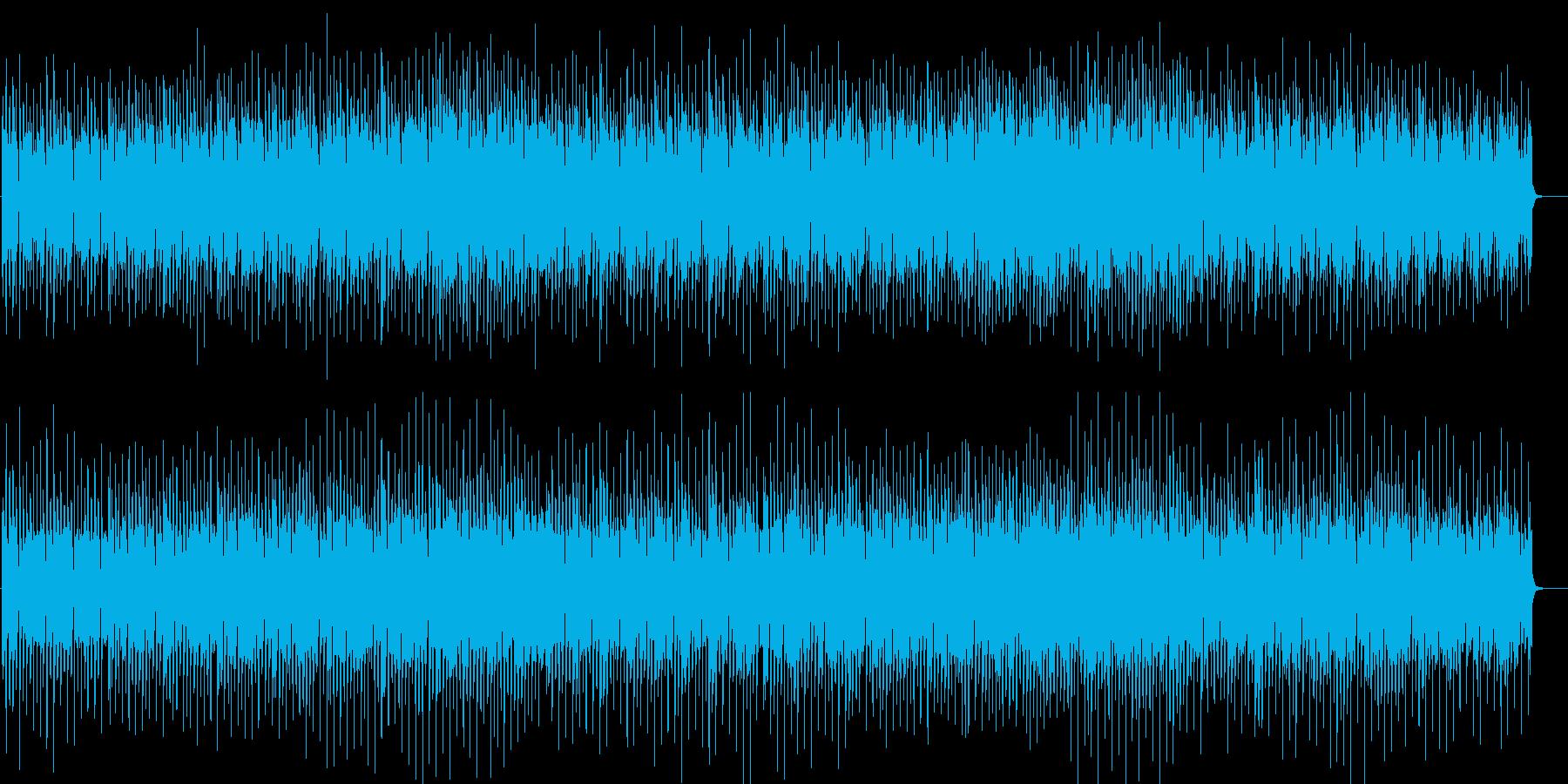 ハウス 哀愁アコーディオン ハロウィン夜の再生済みの波形