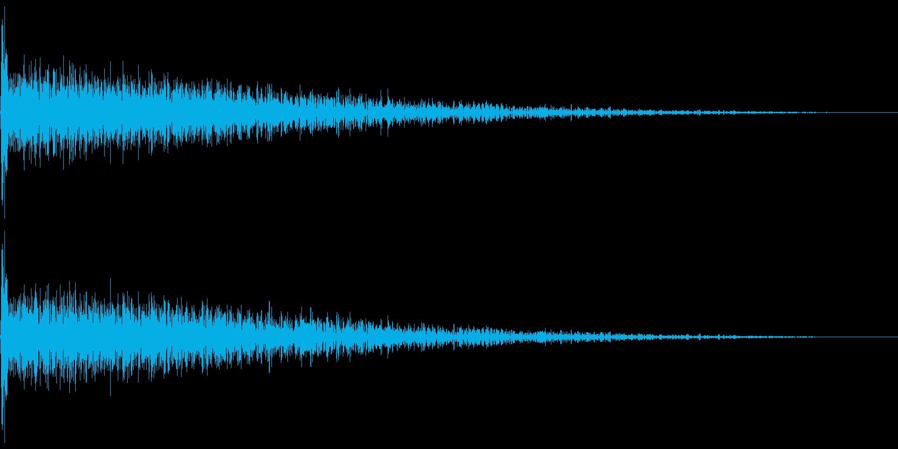 大爆発 1 ドーン!の再生済みの波形