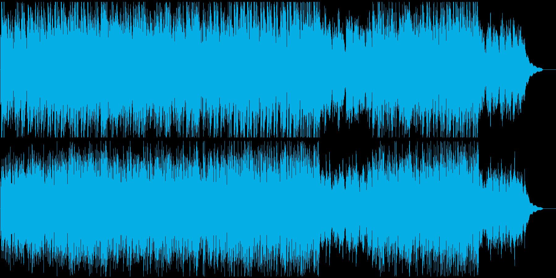 企業VPや映像に 静寂の中の疾走感の再生済みの波形