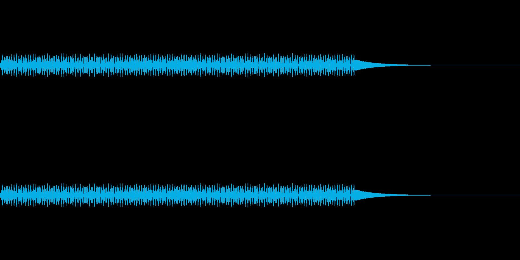 電話/ボタン/押す/プッ/タイプ3の再生済みの波形