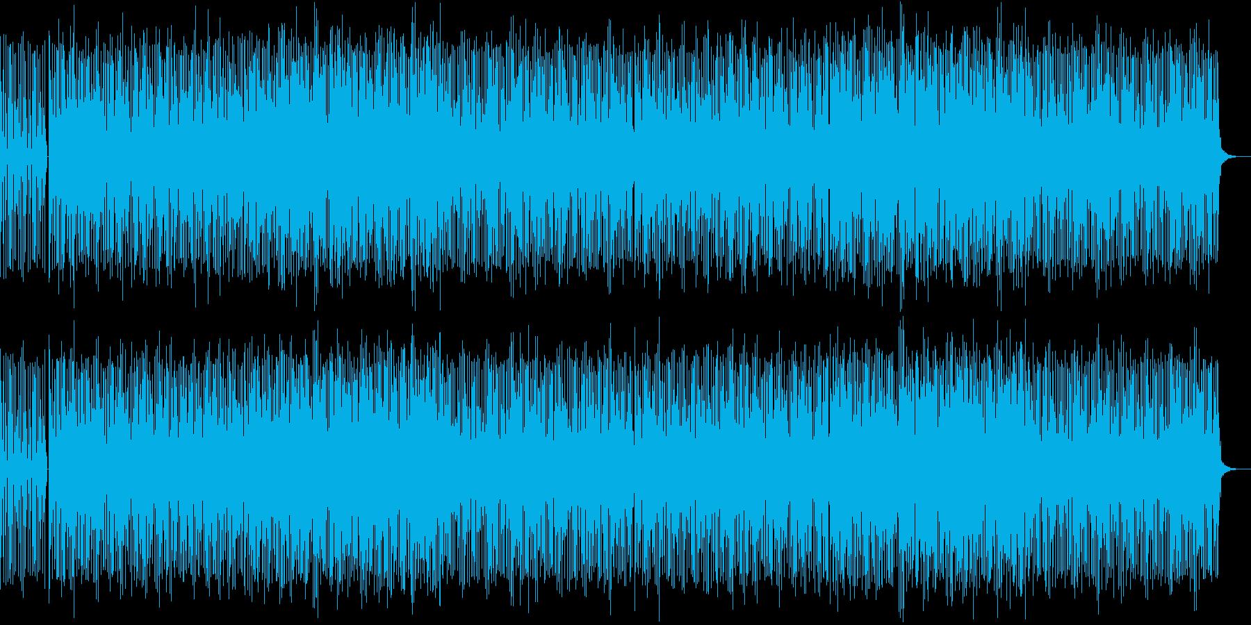 哀愁感漂うビアノンベースの再生済みの波形