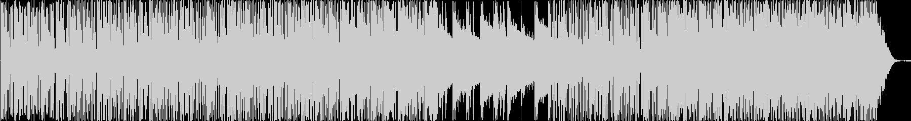 ピアノが印象的なハウステイストBGMの未再生の波形
