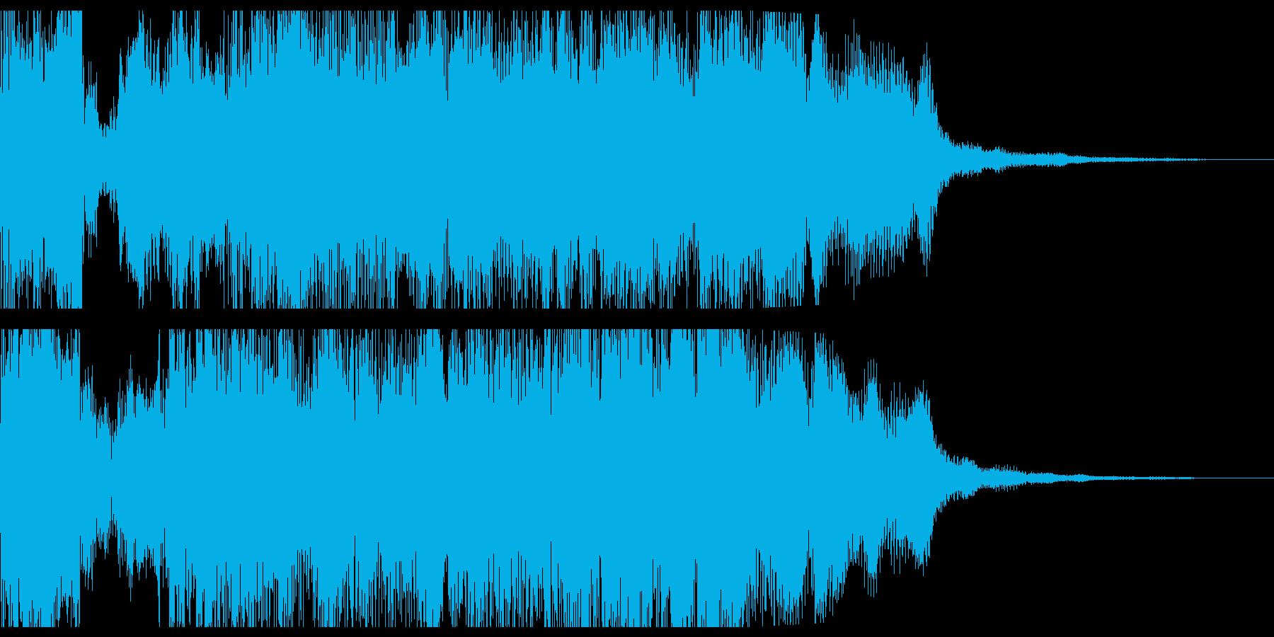 RPG戦闘勝利オーケストラファンファーレの再生済みの波形