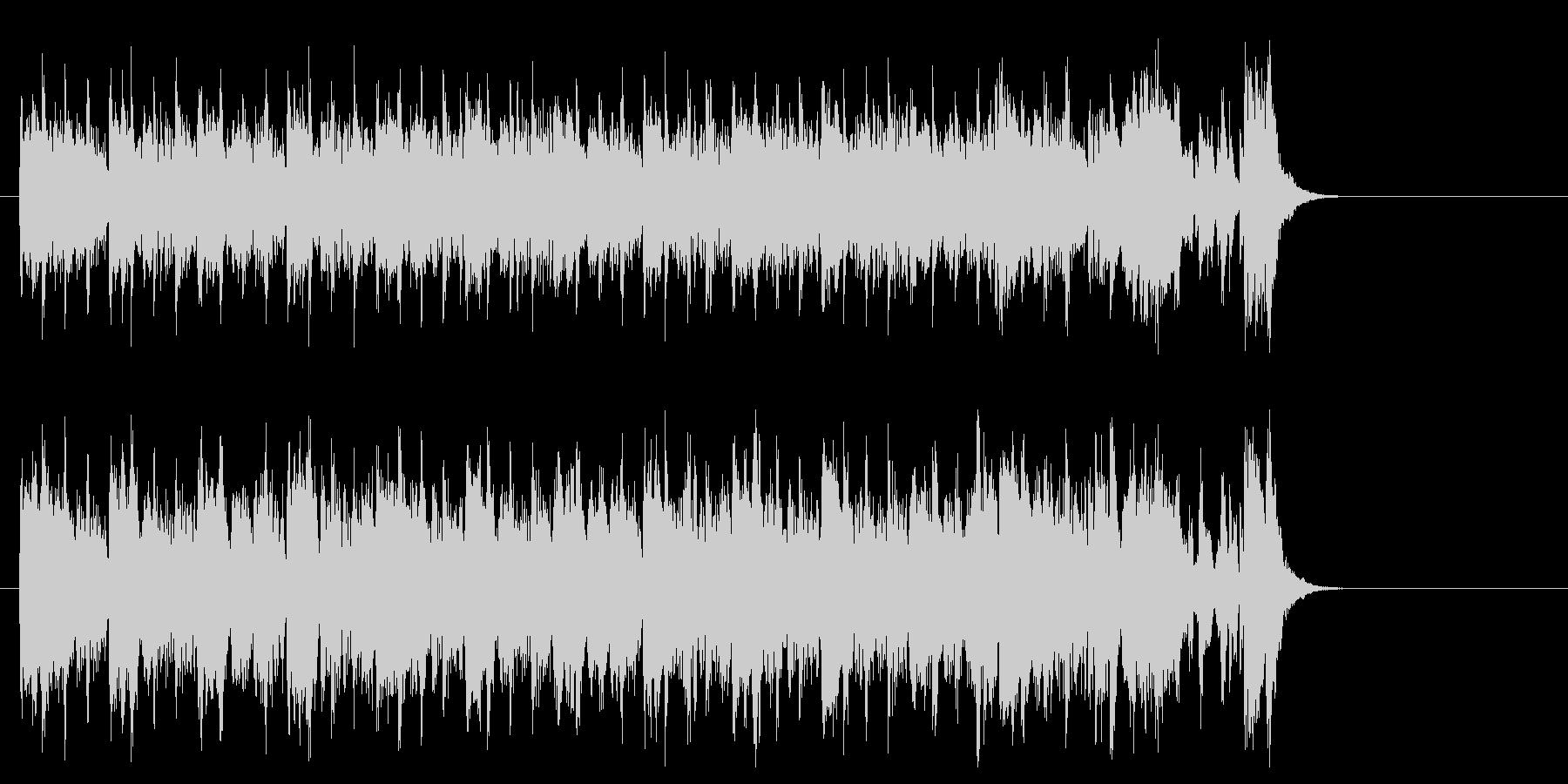 エレクトリックポップス(エンディング)の未再生の波形