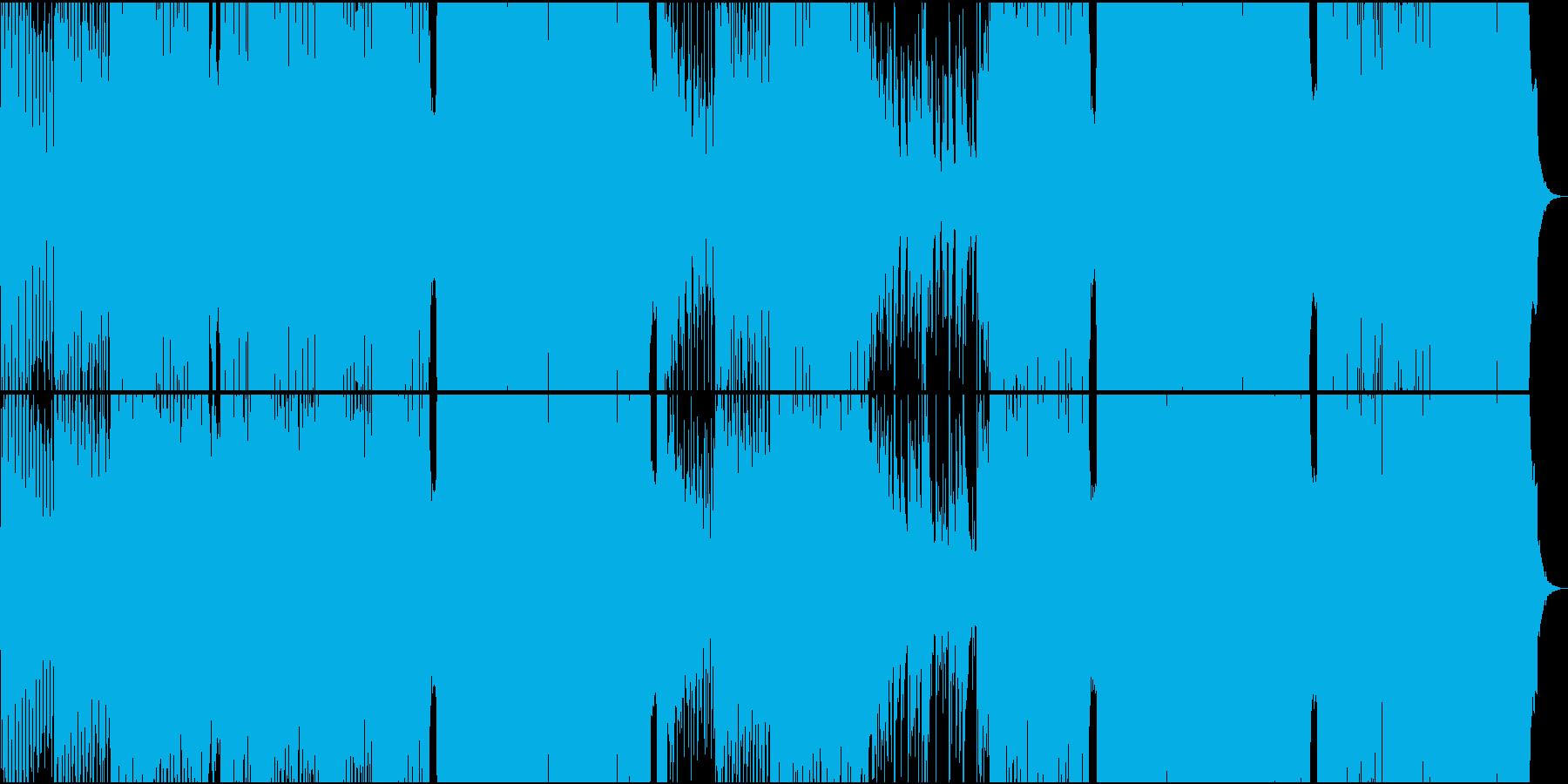 琴・尺八・三味線・シンセによる和風EDMの再生済みの波形