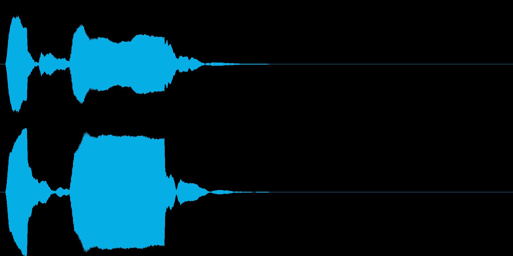 ピンポン系5 ポッポー(高)の再生済みの波形