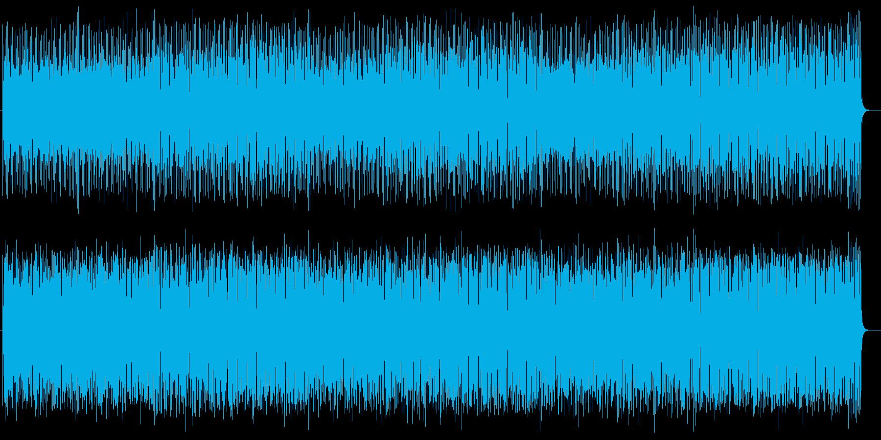 南の島が自然と思い浮かぶ軽快な曲の再生済みの波形
