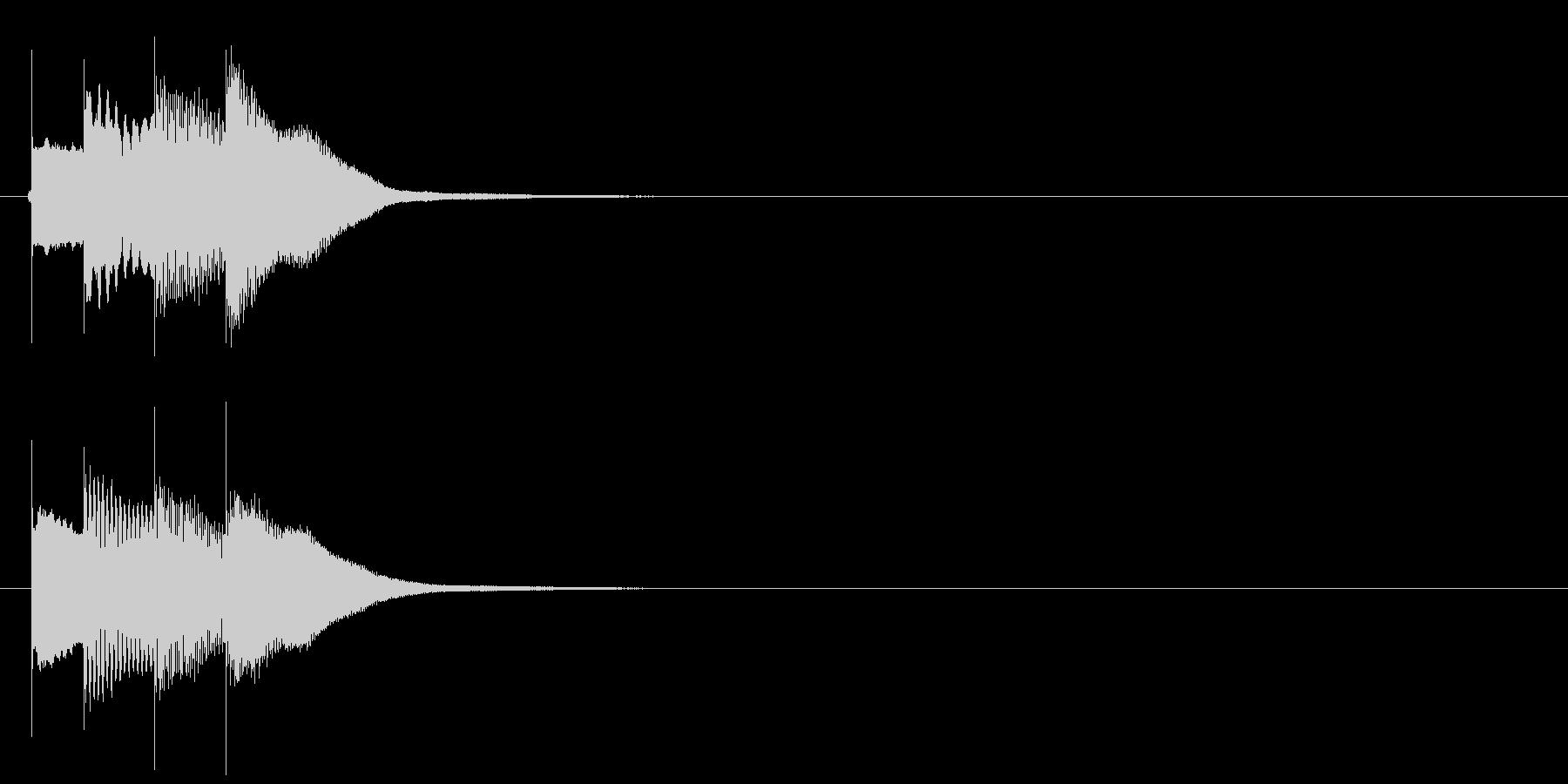 アラーム音03 グロッケンの未再生の波形