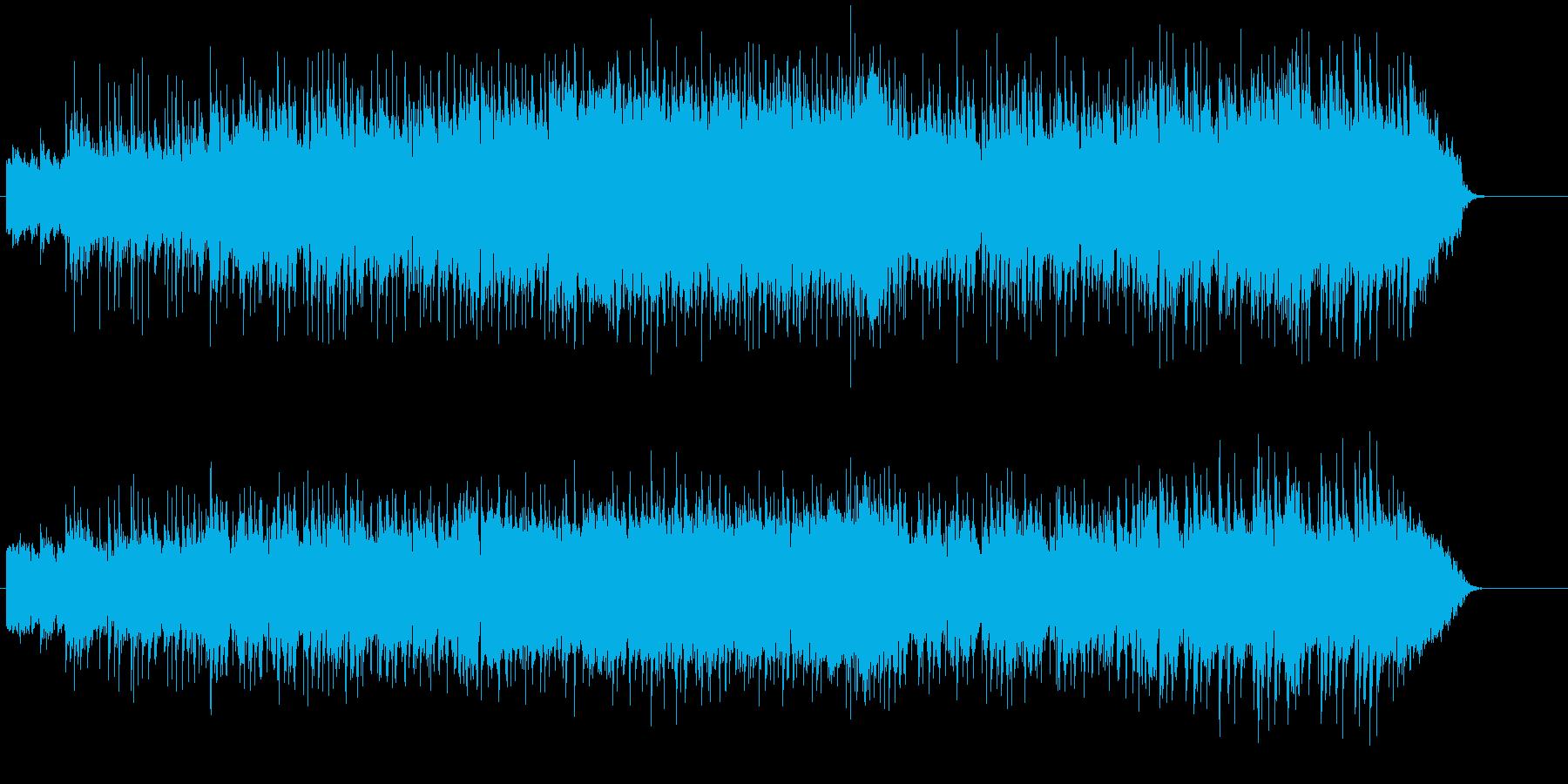 まろやかコラボレーションのフュージョンの再生済みの波形