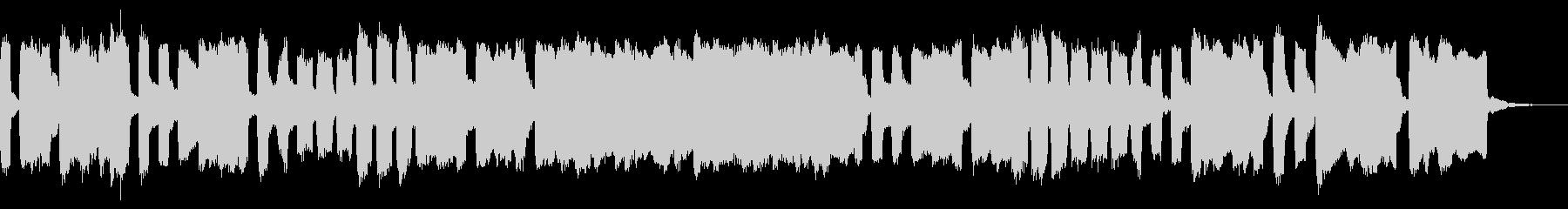 チェンバロとリコーダーのメヌエット・回文の未再生の波形