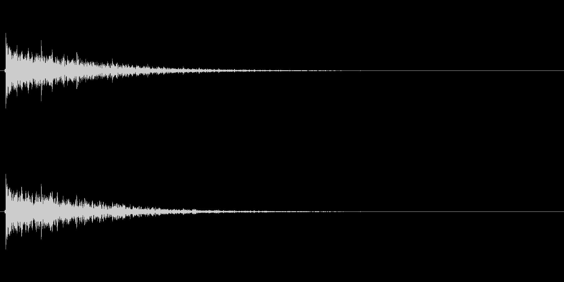 【フィンガースナップ02-2】の未再生の波形