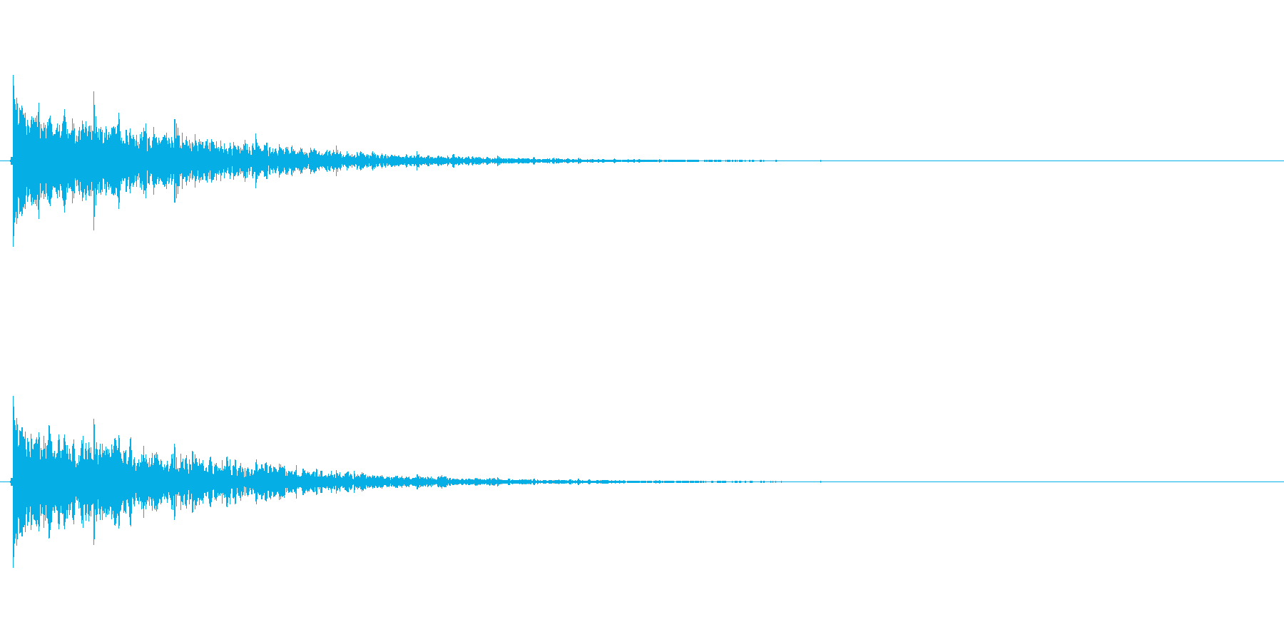 【フィンガースナップ02-2】の再生済みの波形