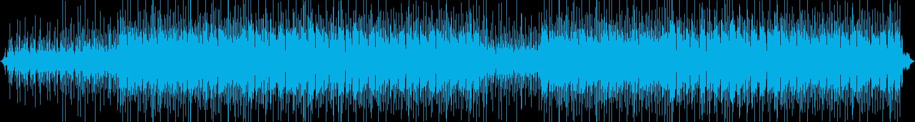 【映像制作】幻想的アコースティックギターの再生済みの波形