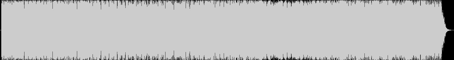 ゆるやかで盛り上がりのあるポップの未再生の波形