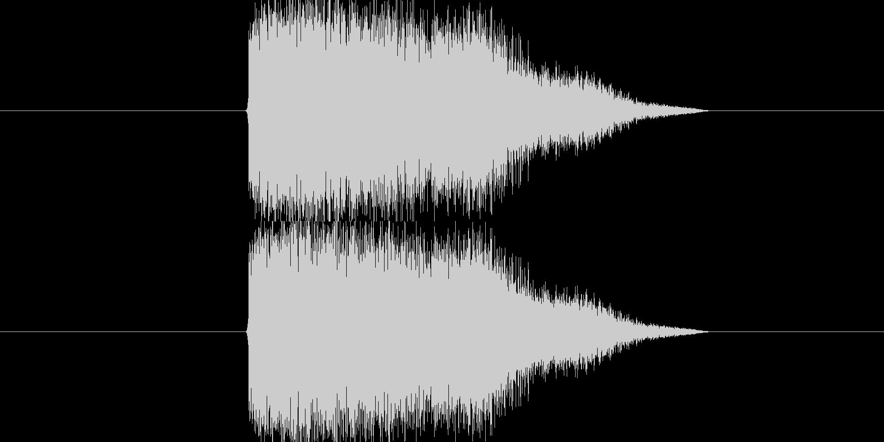 インパクト系SEです。殴り音、登場音、…の未再生の波形