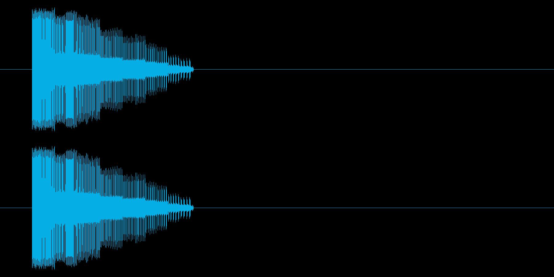 【NES 汎用01-01(ピッチ)】の再生済みの波形