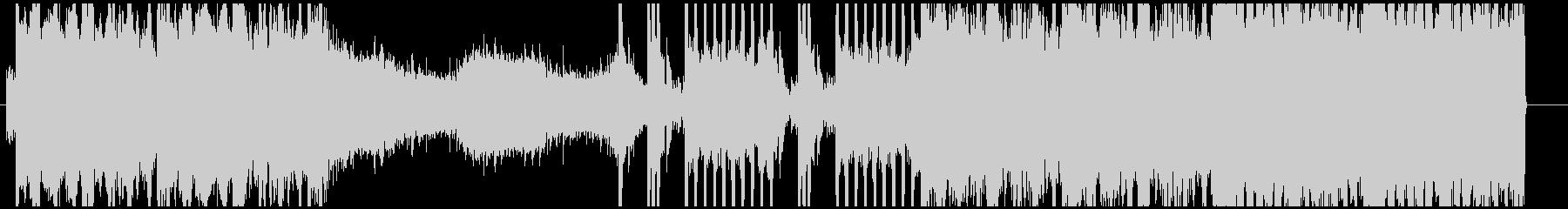 エレクトロ系のインストの未再生の波形