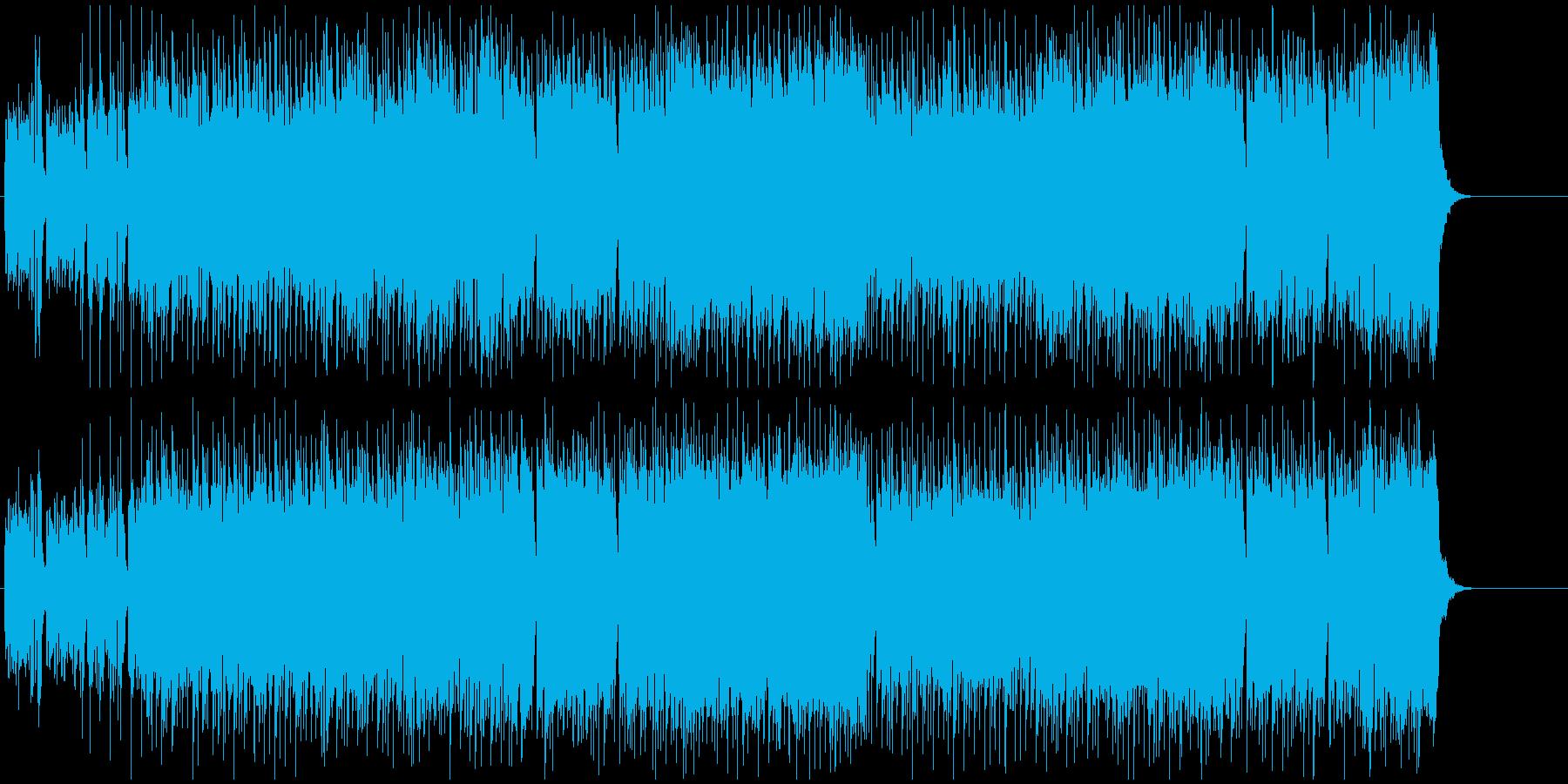レース 追跡 躍動 スリル 慌ただしいの再生済みの波形
