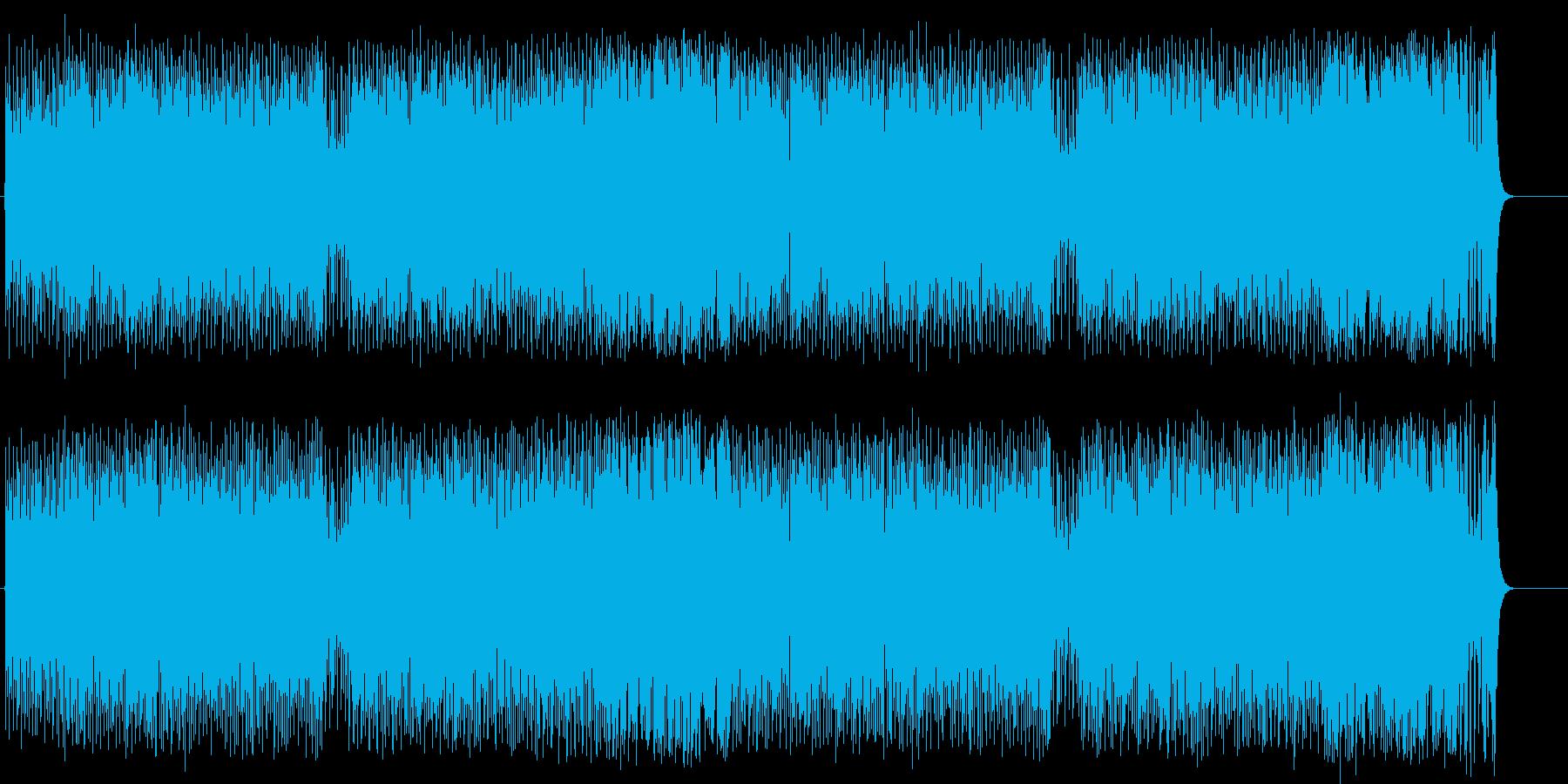 逞しいファンクポップ/ロックの再生済みの波形
