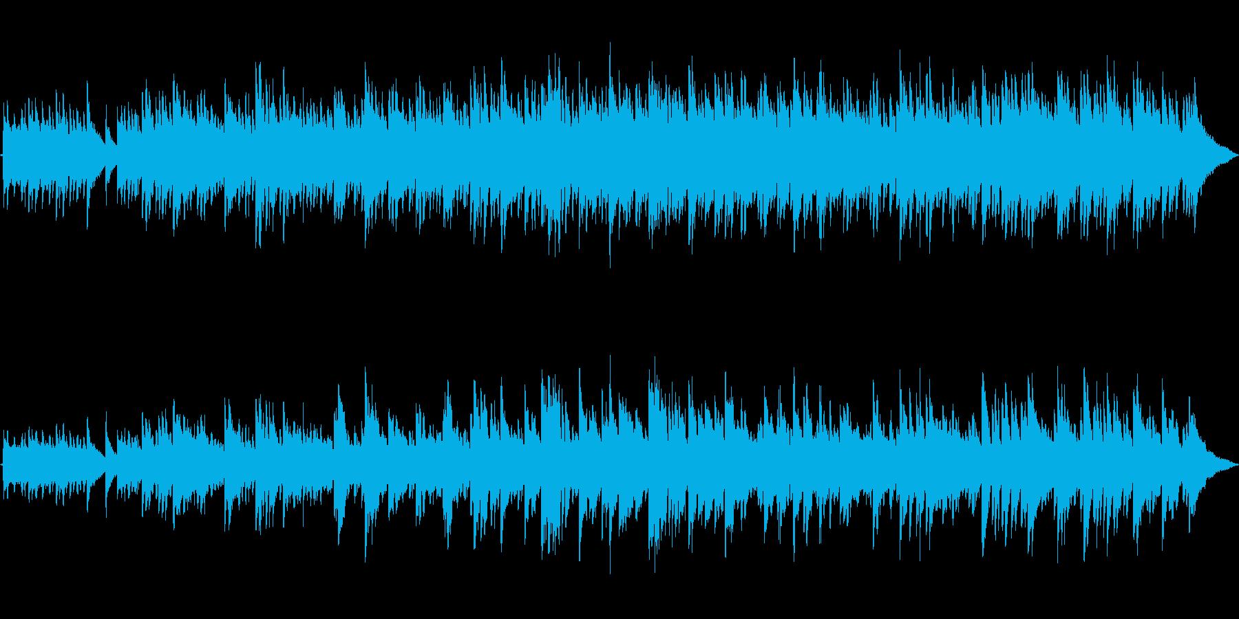 アコースティックギター フォーク調#1の再生済みの波形
