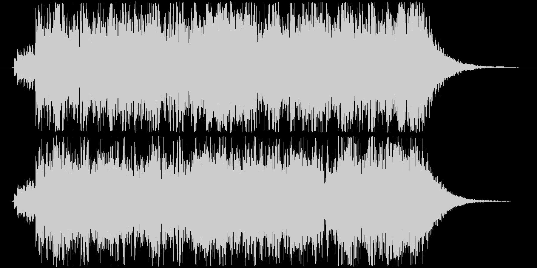 幻想的シーン用オーケストラジングルの未再生の波形