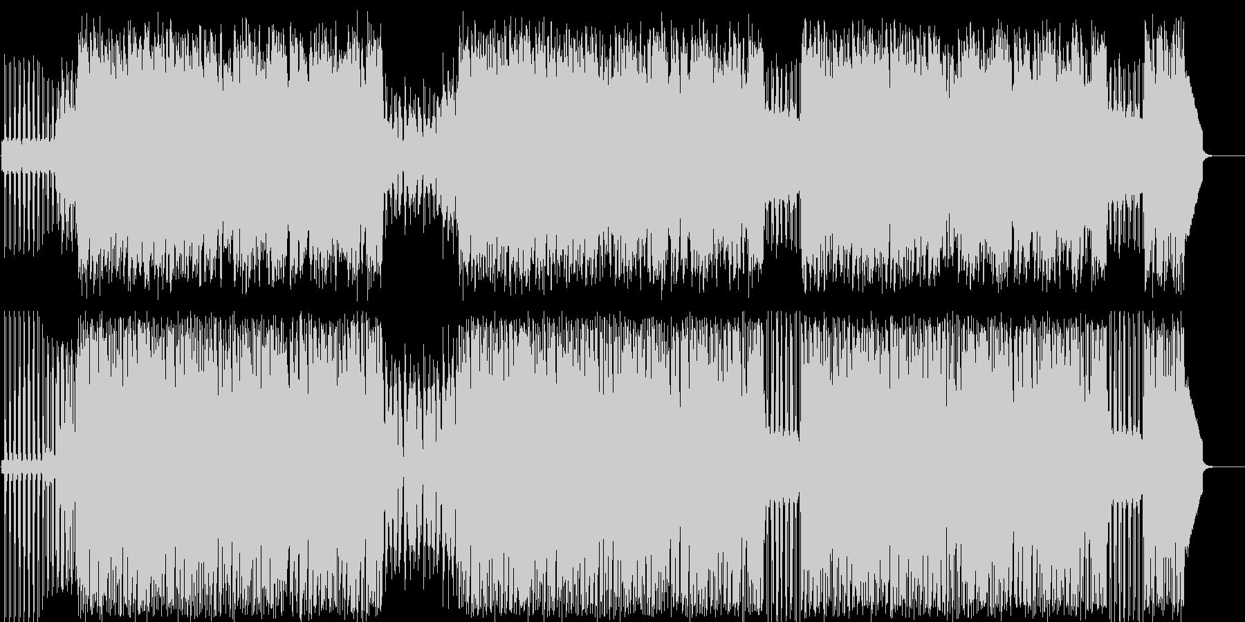なだらかでマイルドなシンセサウンドの未再生の波形