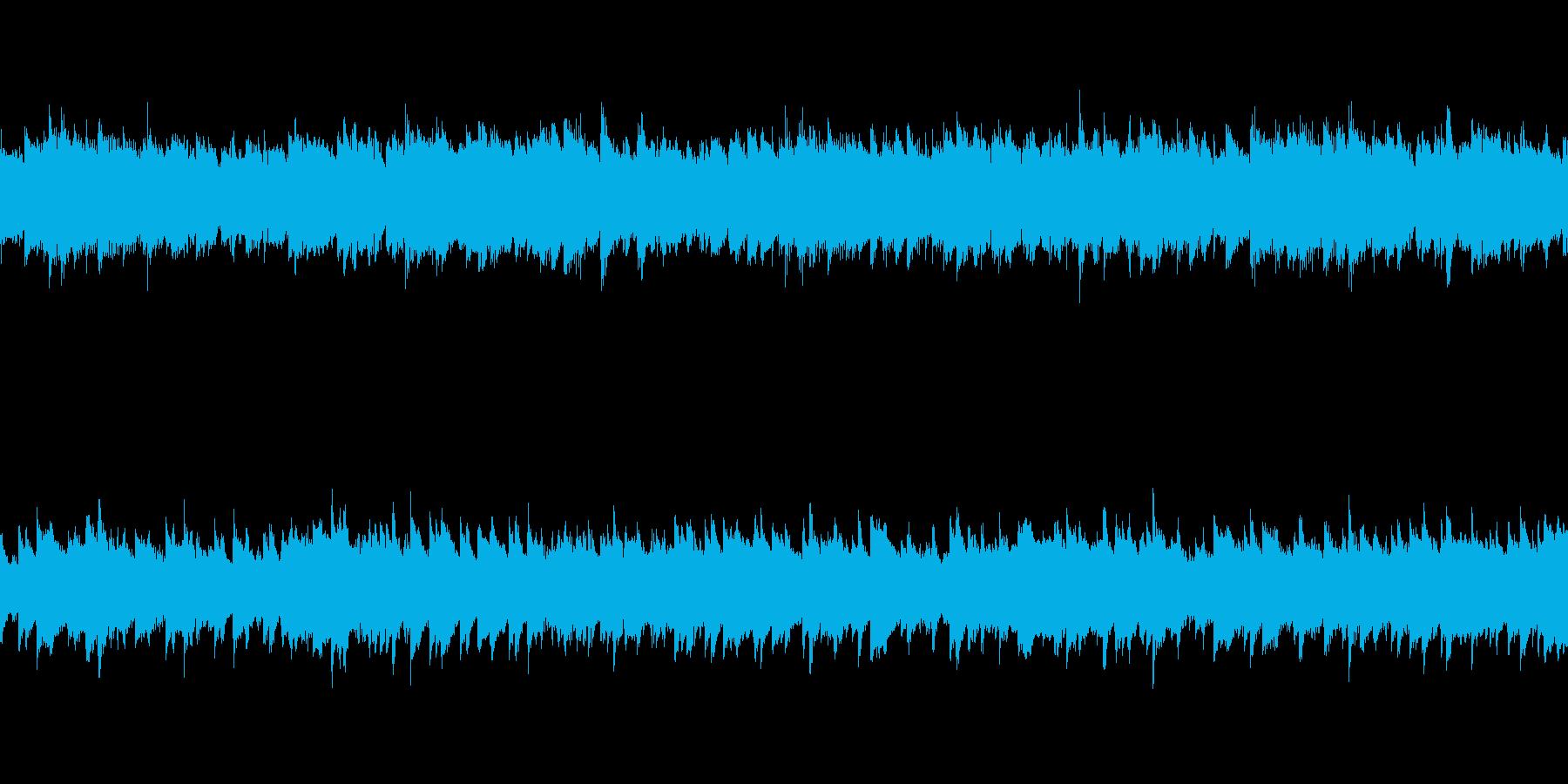 これから何か始まりそうなピアノループの再生済みの波形