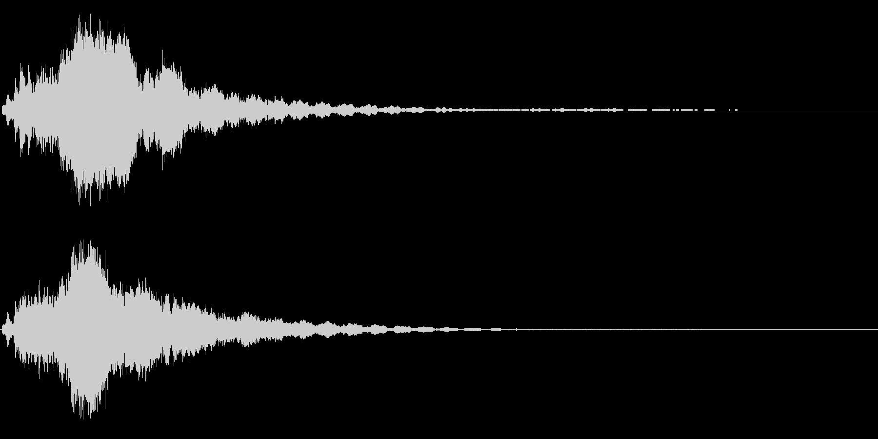 キラキラ/ピキーン(星の輝き 魔法)05の未再生の波形