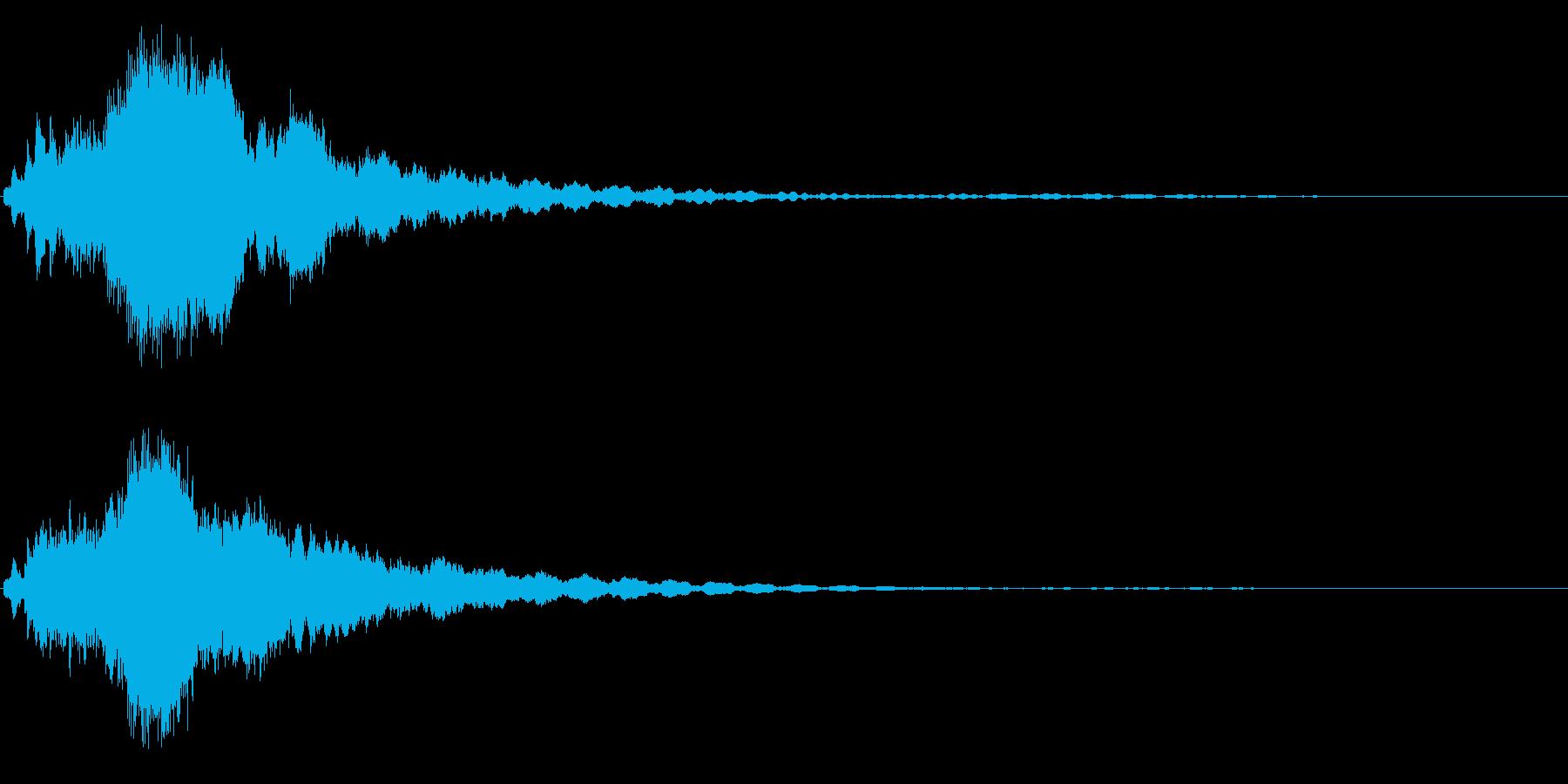 キラキラ/ピキーン(星の輝き 魔法)05の再生済みの波形