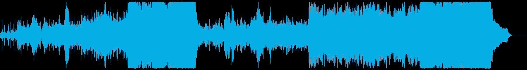 アップテンポな壮大ポップオーケストラの再生済みの波形