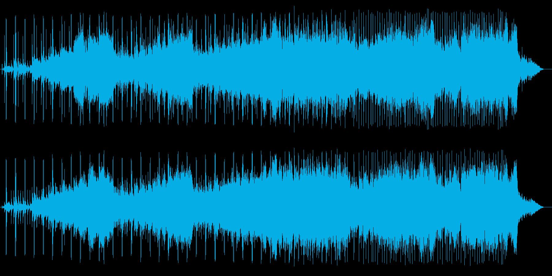 沖縄三線メロディを優しくアレンジの再生済みの波形