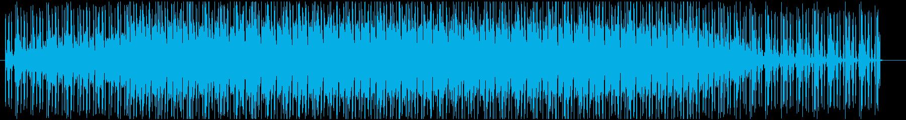 疾走感のあるかわいいエレクトロポップの再生済みの波形