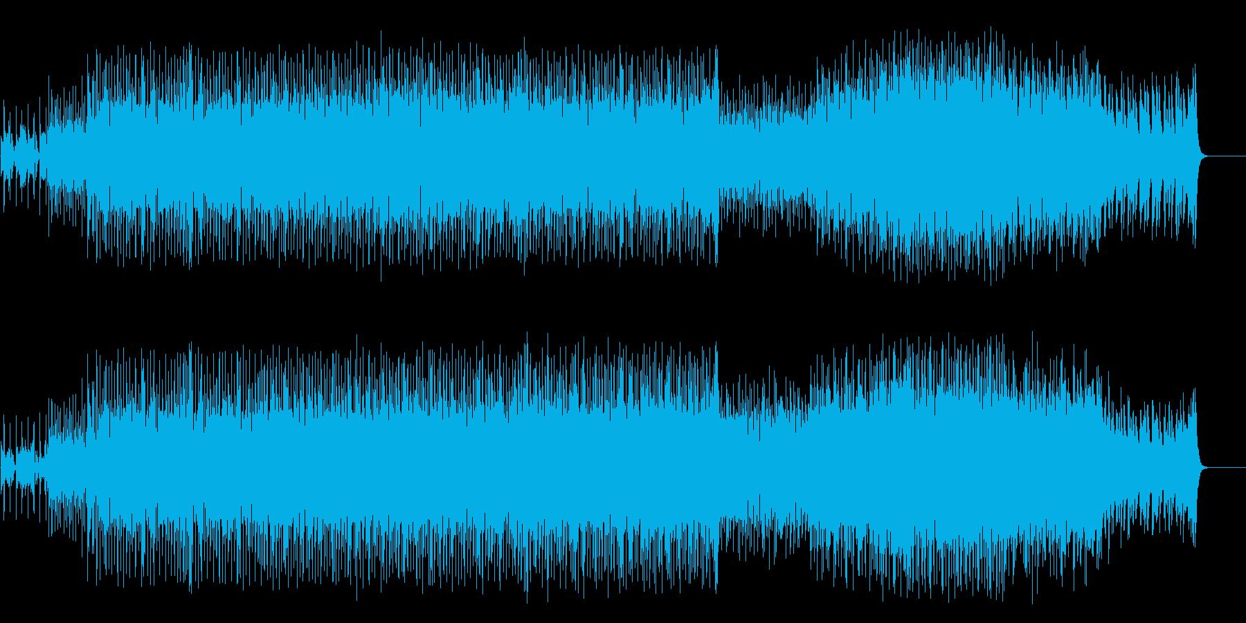 無機質なクラブ系マイナー・ハウス/テクノの再生済みの波形